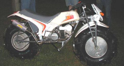 Rokon freaks page. Oddly modified Rokon motorcycles.