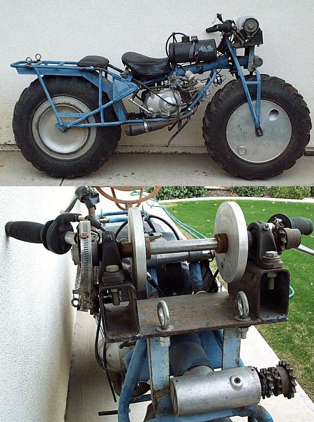 Honda Trail 110 >> Rokon freaks page. Oddly modified Rokon motorcycles.